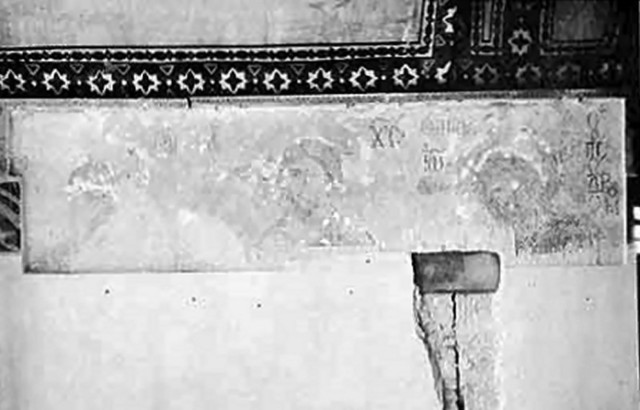 ...over five painstaking years, after the first glimpses under the plaster in 1934...