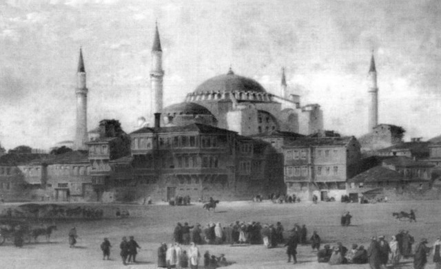 ...a church until 1453, a mosque following the Ottoman Turk conquest until 1935, when first Turkish President, Mustafa Kemal Atatürk, restored the building as a museum...