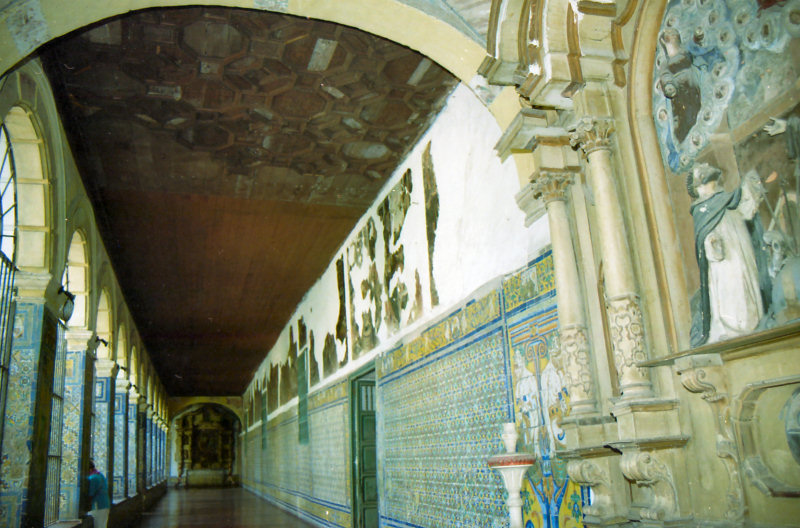 ...extensive tiled walkways display intricate craftsmanship...