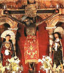 The Black Christ at Cusco Cathedral, Lord of Miracles, Earthquake King