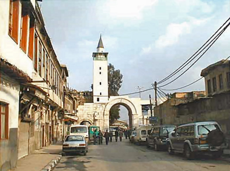 The street called Straight, the Via Recta, is where Paul, or Saul of Tarsus, stayed for three days at the house of Judas...